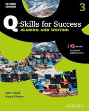 Q Skills for Success: Level 3: Reading & Writing Student Book with iQ Online