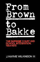 From 'Brown' to 'Bakke'