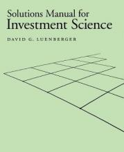 "Solutions Manual for ""Investment Science"" (Gratis)"