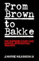 From Brown to Bakke