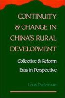 Continuity and Change in China's Rural Development