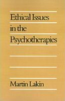 Ethical Issues in the Psychotherapies