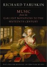 The Oxford History of Western Music: Music from the Earliest Notations to the Sixteenth Century