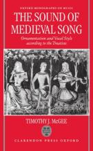 The Sound of Medieval Song
