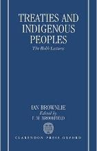 Treaties and Indigenous Peoples