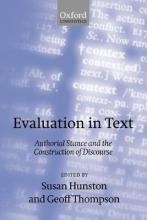 Evaluation in Text