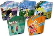 Project X Origins: Red Book Band, Oxford Level 2: Big and Small: Class Pack of 30