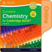 Complete Chemistry for Cambridge IGCSE (R) Online Student Book