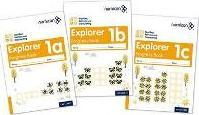 Numicon: Number, Pattern and Calculating 1 Explorer Progress Books ABC (Mixed pack): 1