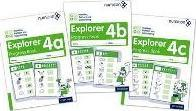 Numicon: Number, Pattern and Calculating 4 Explorer Progress Books ABC (Mixed pack): 4