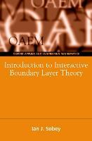 Introduction to Interactive Boundary Layer Theory