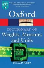 A Dictionary of Weights, Measures and Units