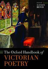 The Oxford Handbook of Victorian Poetry