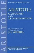 Categories and De Interpretatione