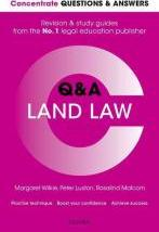 Concentrate Questions and Answers Land Law