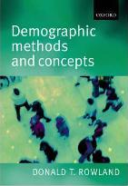 Demographic Methods and Concepts