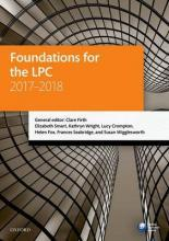 Foundations for the LPC 2017-2018