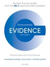 EVIDENCE CONCENTRATE LAW REVISION & STUD