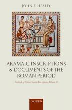 Aramaic Inscriptions and Documents of the Roman Period: Aramaic Inscriptions and Documents of the Roman Period Volume 4