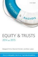 Questions & Answers Equity & Trusts 2014-2015
