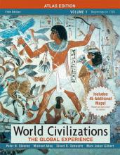 World Civilizations  The Global Experience, Volume Itlas Edition Value Pack (Includes Documents in World History, Volume 1 & Longman Atlas of World History by Maps.Com)
