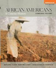 NEW MyHistoryLab with Pearson eText - Standalone Access Card - African Americans