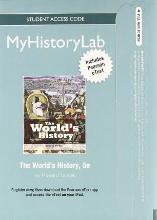 NEW MyLab History with Pearson eText -- Standalone Access Card -- for The World's History, Combined Volume
