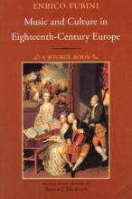 Music and Culture in Eighteenth-century Europe