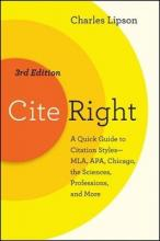 Cite Right, Third Edition