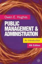 Public Management and Administration 2012