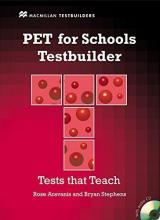 PET for Schools Testbuilder Student's Book with key & CD Pack