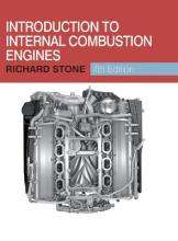 Introduction to Internal Combustion Engines 2012