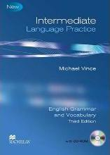 Intermediate Language Practice Student Book with Key and CD ROM - Suitable for PET / B1 Level