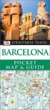 DK Eyewitness Pocket Map and Guide: Barcelona