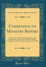 Commission on Ministry Report