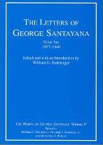 The Letters of George Santayana, Book Six, 1937--1940