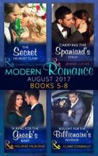 Modern Romance Collection: August 2017 Books 5 -8