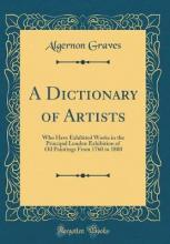 A Dictionary of Artists