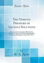 The Osmotic Pressure of Aqueous Solutions