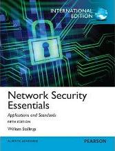 Network Security Essentials: Applications and Standards