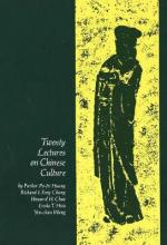Twenty Lectures on Chinese Culture: v. 1