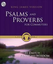 KJV, Psalms and Proverbs for Commuters, Audio CD