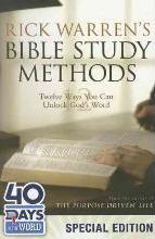 Rick Warren's Bible Study Methods: 40 Days in the Word