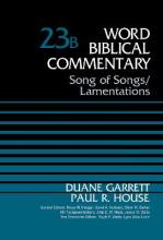 Song of Songs and Lamentations: Volume 23b