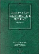 Contract Law Selected Mats 03