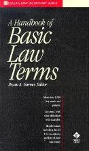 Black's-A Handbook of Basic Law Terms