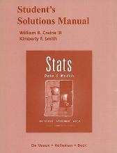 Student Solutions Manual for Stats