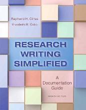 Research Writing Simplified with MyWritingLab Student Access Code