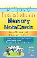 Mosby's Fluids & Electrolytes Memory NoteCards