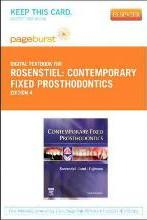 Contemporary Fixed Prosthodontics - Elsevier eBook on Vitalsource (Retail Access Card)